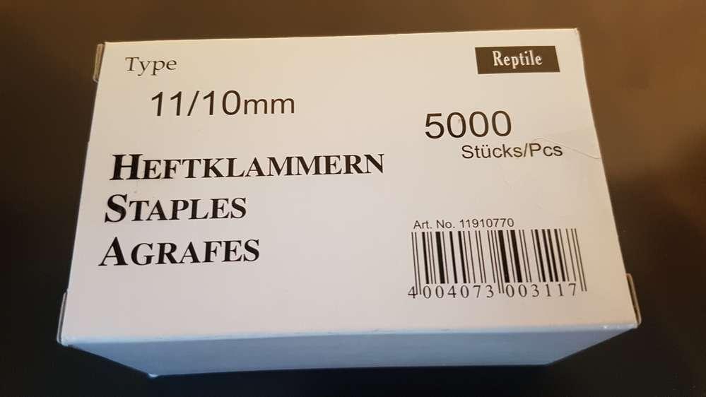 metall Tacker  regur  53   für Klammern 53//530  von 4-10mm
