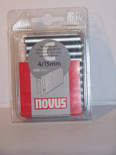 Novus Tackerklammern  Typ 606      15 mm